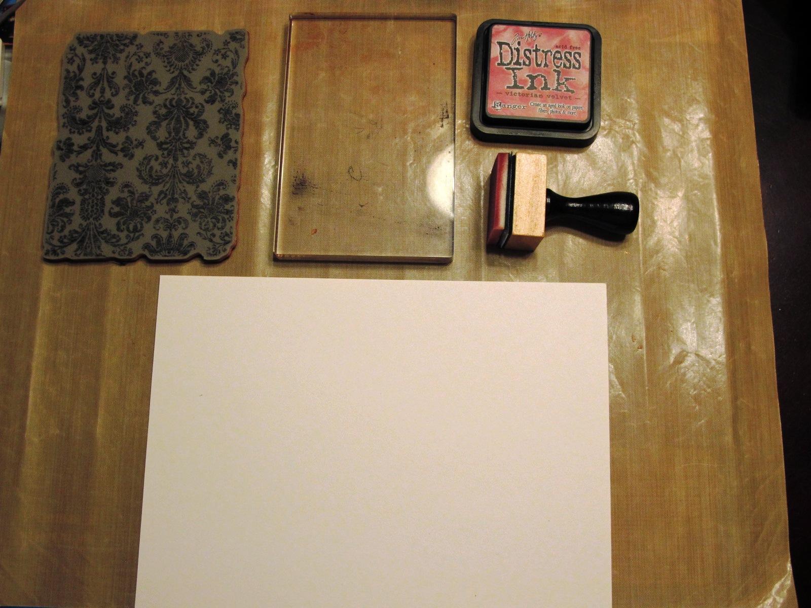 le monde selon peper par annie samson fabriquer un fond de page simple la distress. Black Bedroom Furniture Sets. Home Design Ideas
