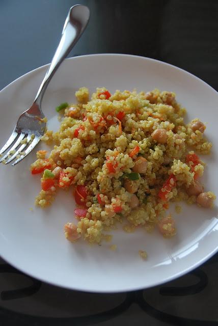 Moroccan And Rollin' Quinoa Salad