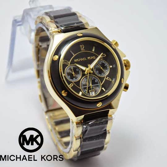 Michael Kors Chronograph hitam