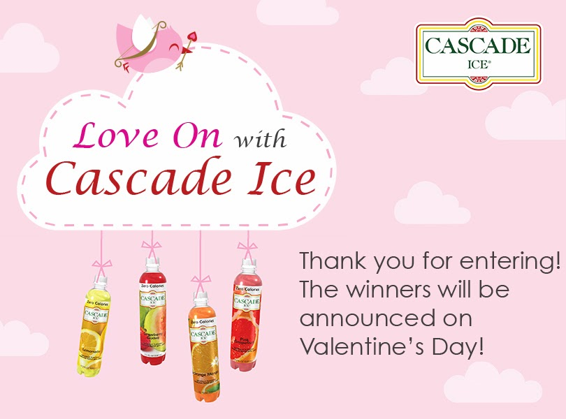 love on cascade ice giveaway logo