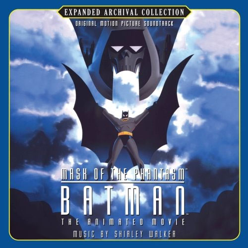 Soundtrack cover for Batman: Mask of the Phantasm 1993 animatedfilmreviews.blogspot.com