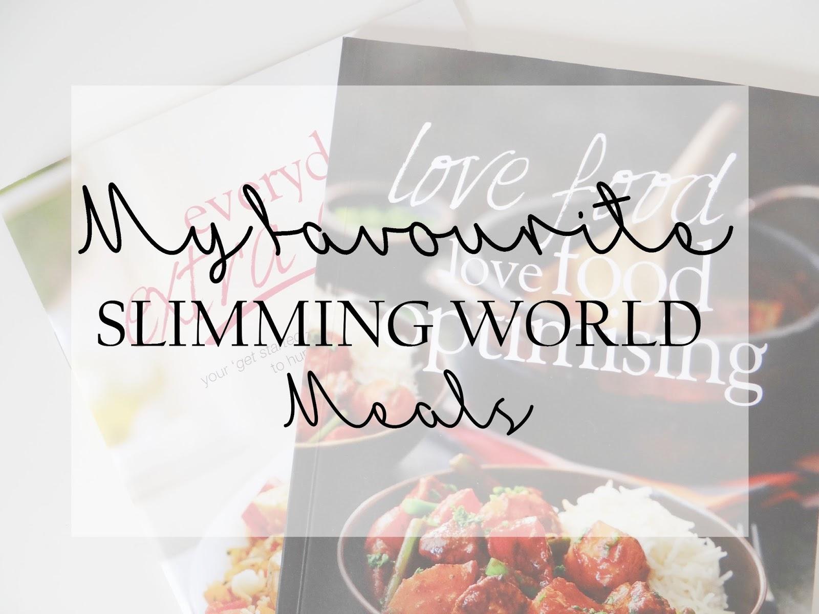 My Favourite Slimming World Meals Life As Mum Uk
