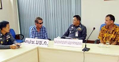 ian charles tracy tracey pattaya thailand