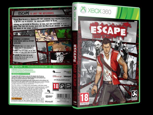 Capa Escape Dead Island Xbox 360