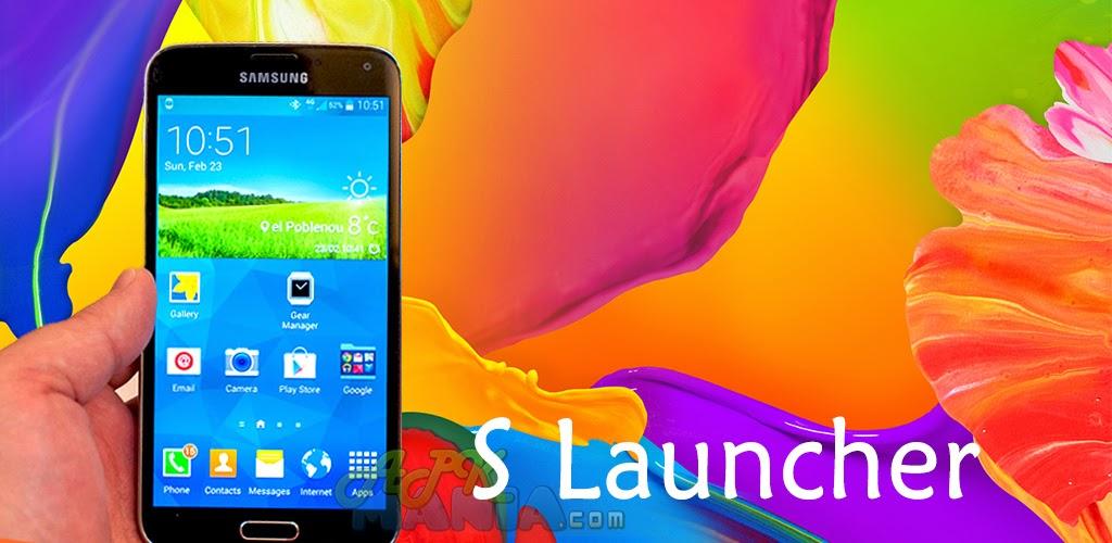 S Launcher (Galaxy S5 Launcher) Prime [v2.91 Apk]