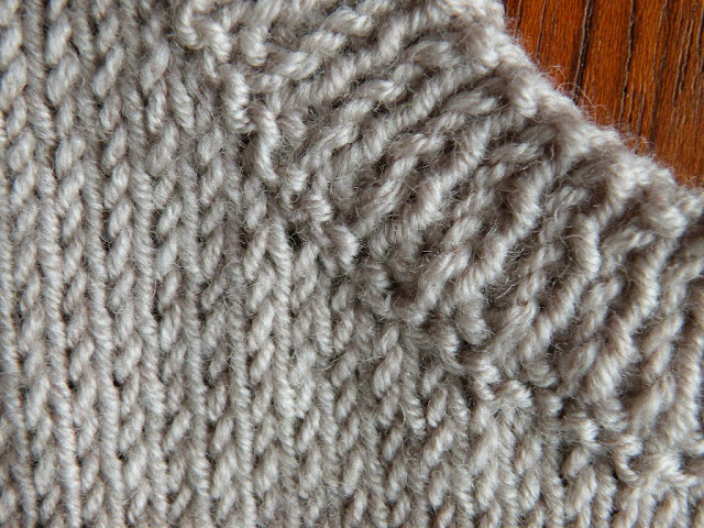 Knitting Picking Up Stitches Evenly : Just Skirts and Dresses: How to knit and attach neckline/armhole ribbing sepa...