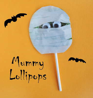 Mummy Lollipops