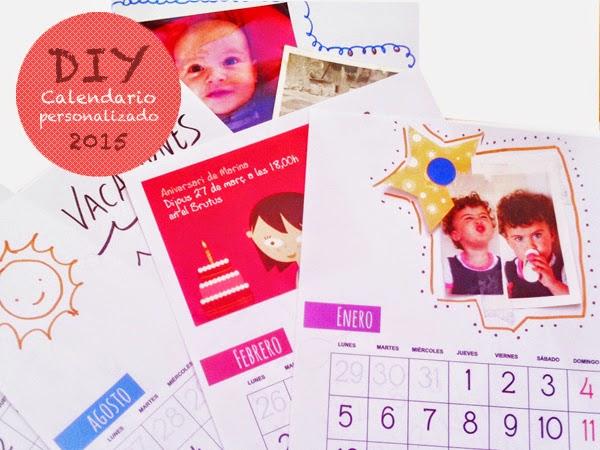 calendario personalizado 2015 para imprimir gratis
