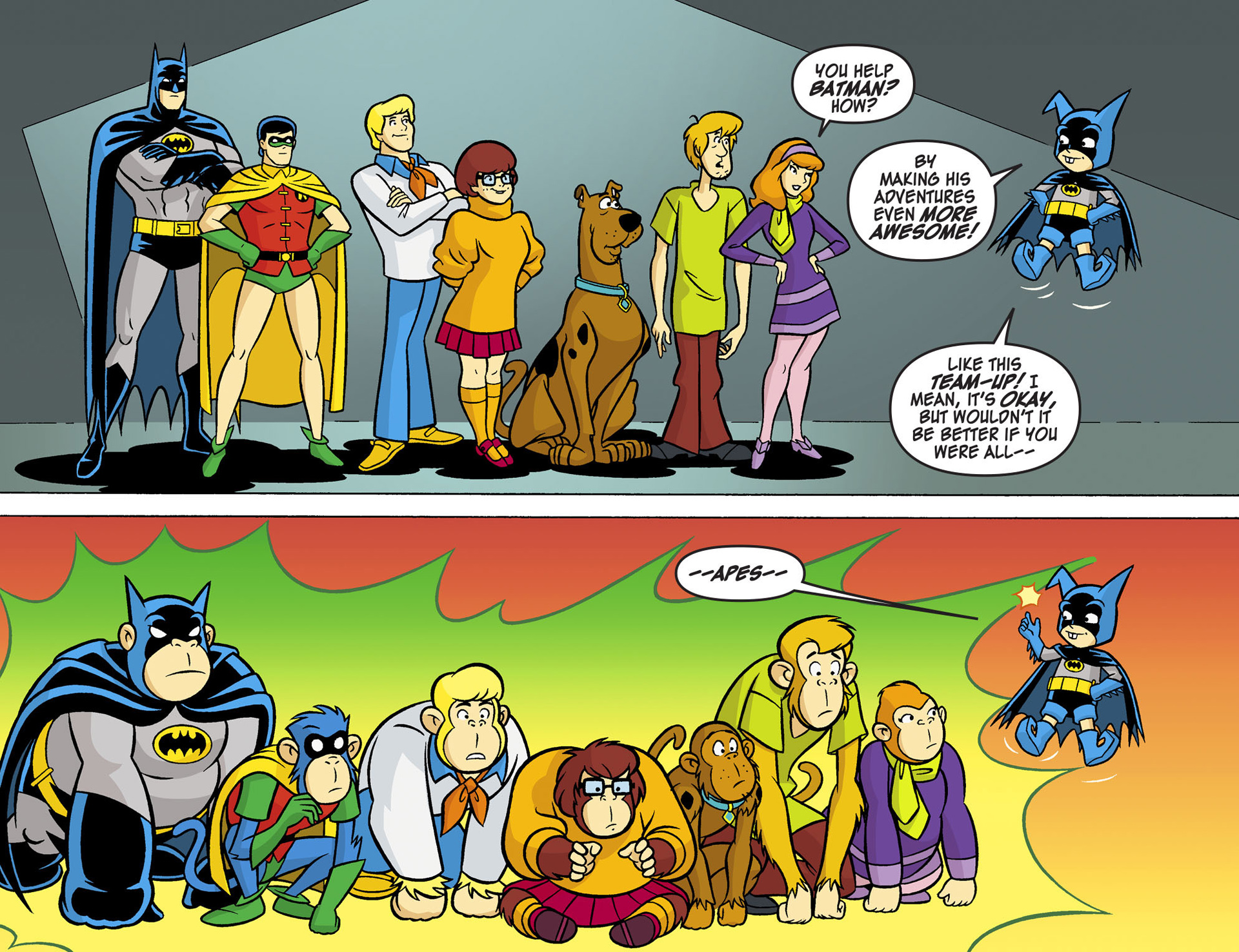Read online Scooby-Doo! Team-Up comic -  Issue #5 - 11