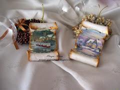 Pergamene per albero di Natale