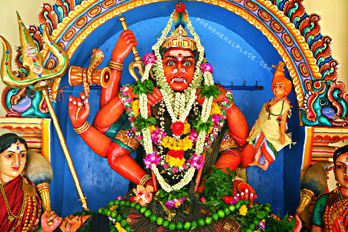 periyachi amman   the world s most fearsome goddess places on the