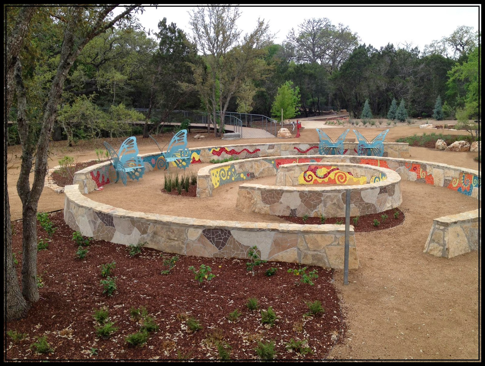 Texas Homemaking: Grand Opening :: Luci and Ian Family Garden at the ...