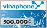 Thẻ điện thoại vinaphone online 2