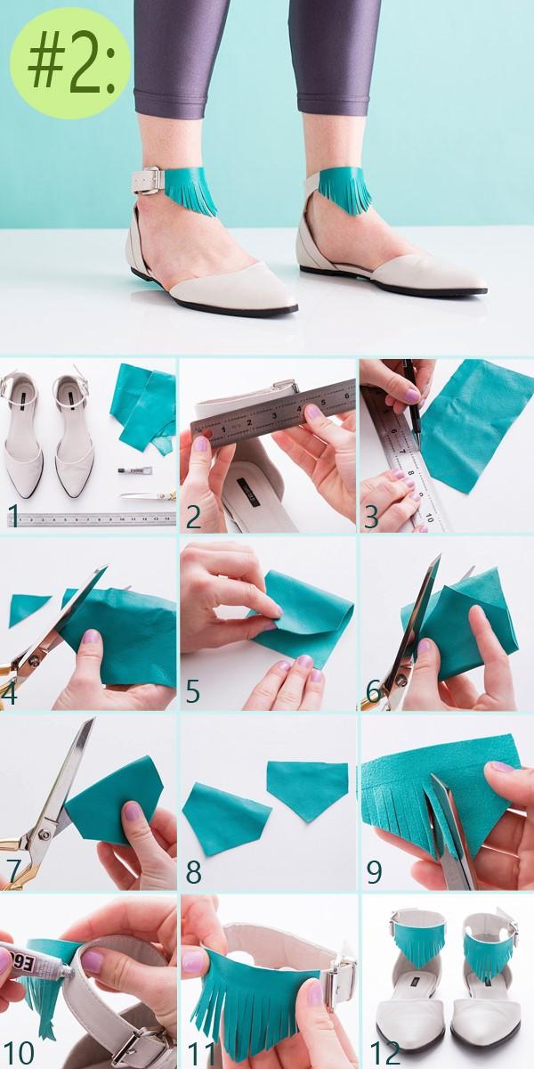 3 ideas para decorar tus zapatos paso a paso for Accesorios originales para el hogar