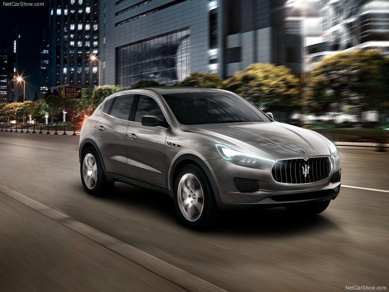 2013 Maserati Kubang Luxury SUV