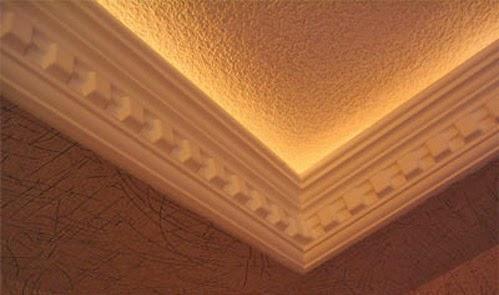 Molduras decorativas de poliestireno bocel molduras con for Molduras para techo