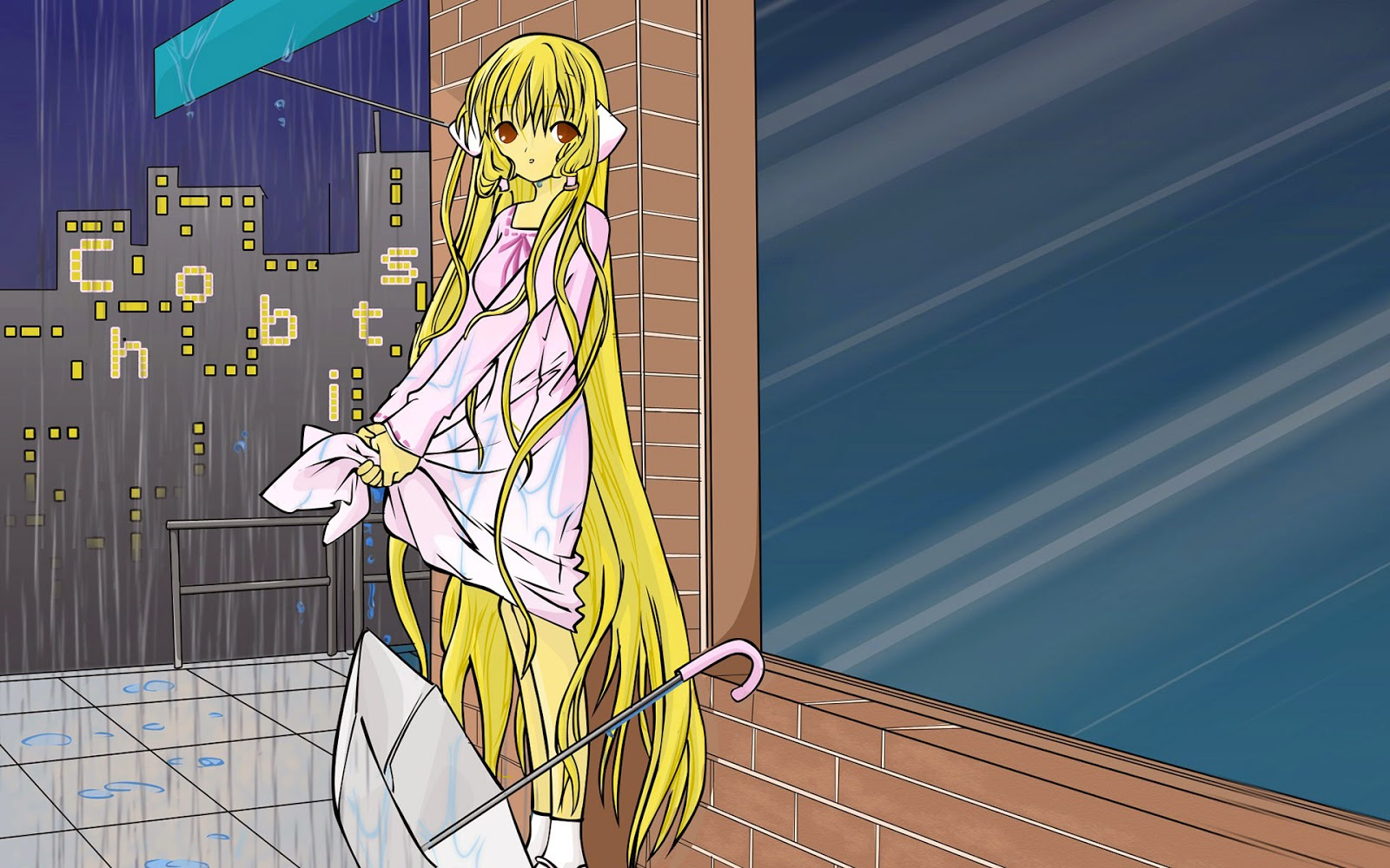 free download chii- chobits for desktop