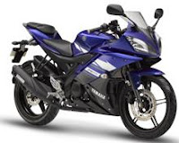 New 2011 Yamaha R15 v2 Blue color