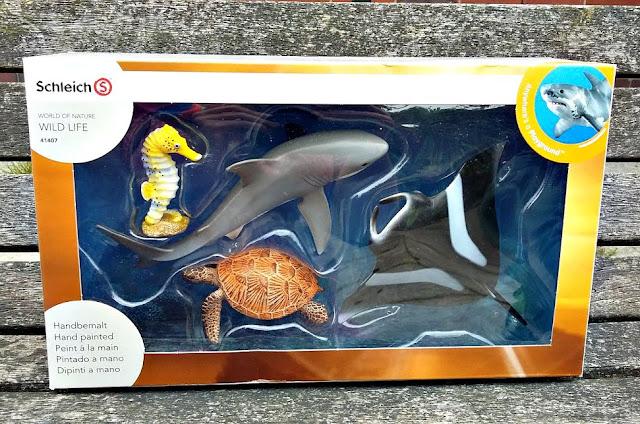 Schleich Ocean Creatures Set