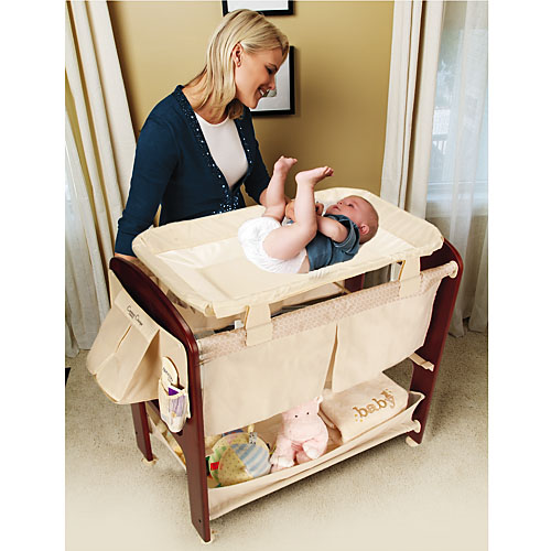 Bassinet And Changing Table7