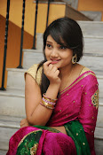 Priyanka Gorgeous Photos in Saree-thumbnail-7