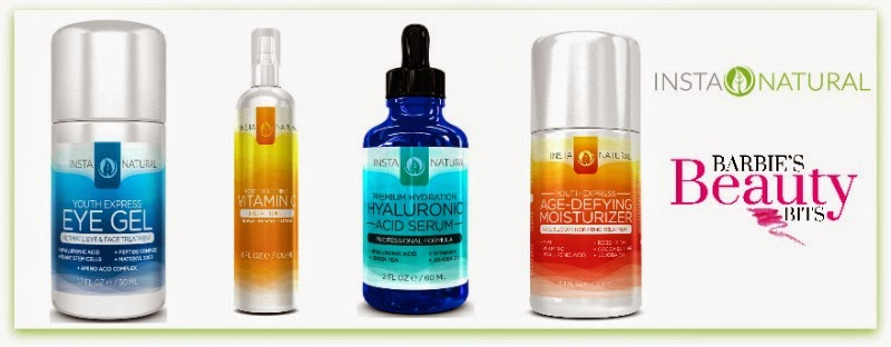 InstaNatural skin care reveiw by barbies beauty bits