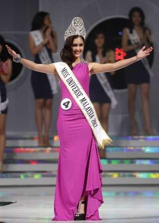 miss universe malaysia 2012,KimberleyLeggett,Kimberley Leggett