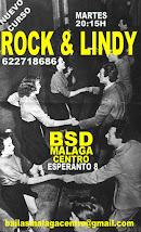 ROCK & LINDY INTENSIVO  EN OCTUBRE EN BSD BAILAS MÁLAGA CENTRO.