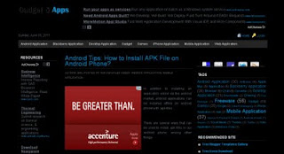 Black Adsense Ready | Simple Template for Blogspot