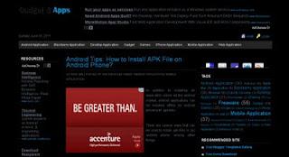 Black Adsense Ready | Simple Template for Blogspot