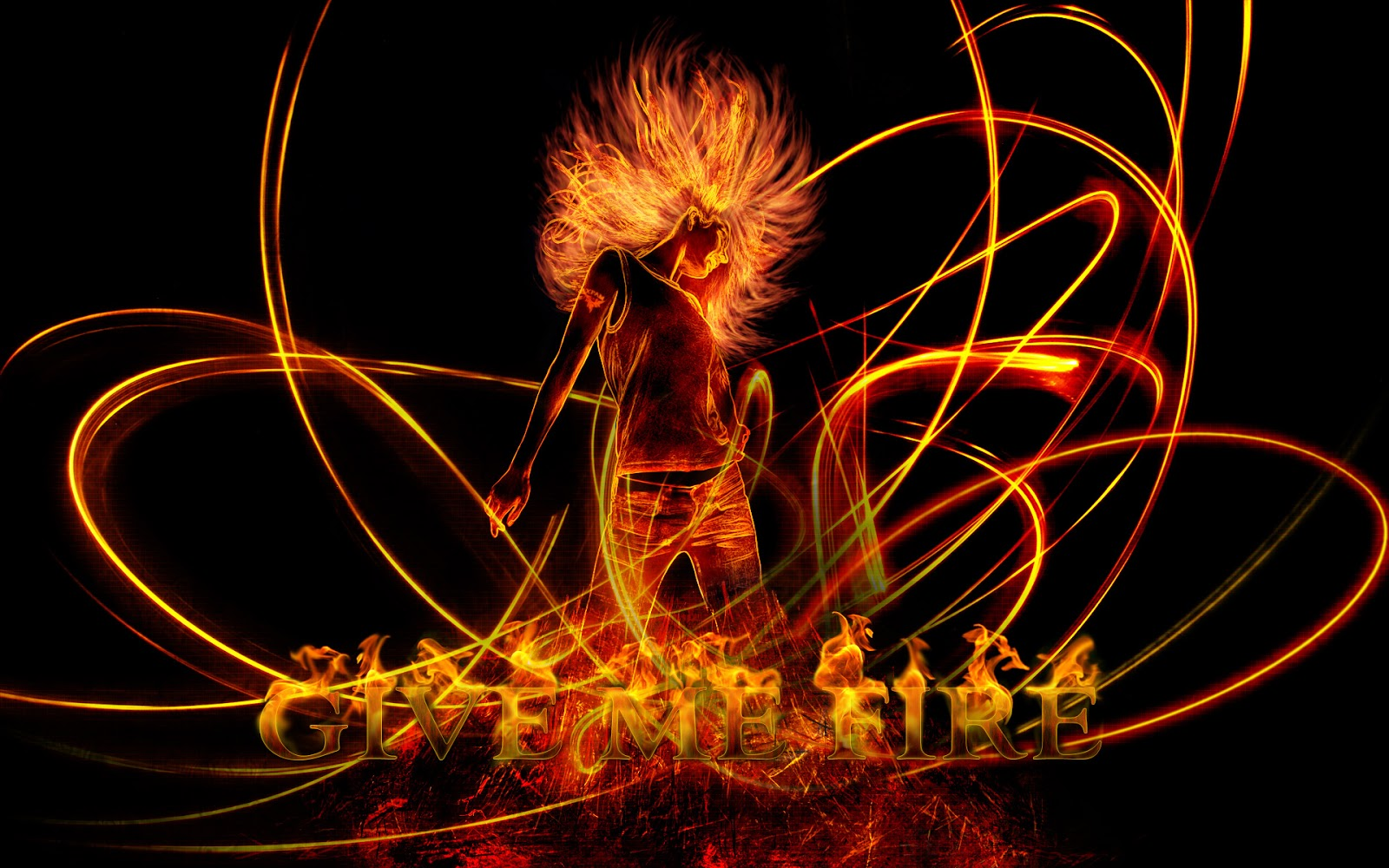 18 <b>Awesome HD Fire Wallpapers</b> - HDWallSource.com
