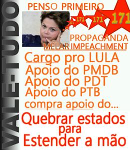 Vale tudo de Dilma inclui comprar a midia e políticos corruptos