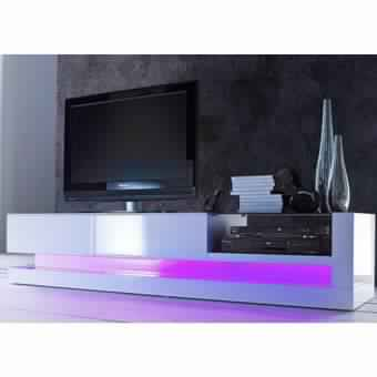 Meuble tv conforama noir laqu meuble tv for Meuble conforama tv