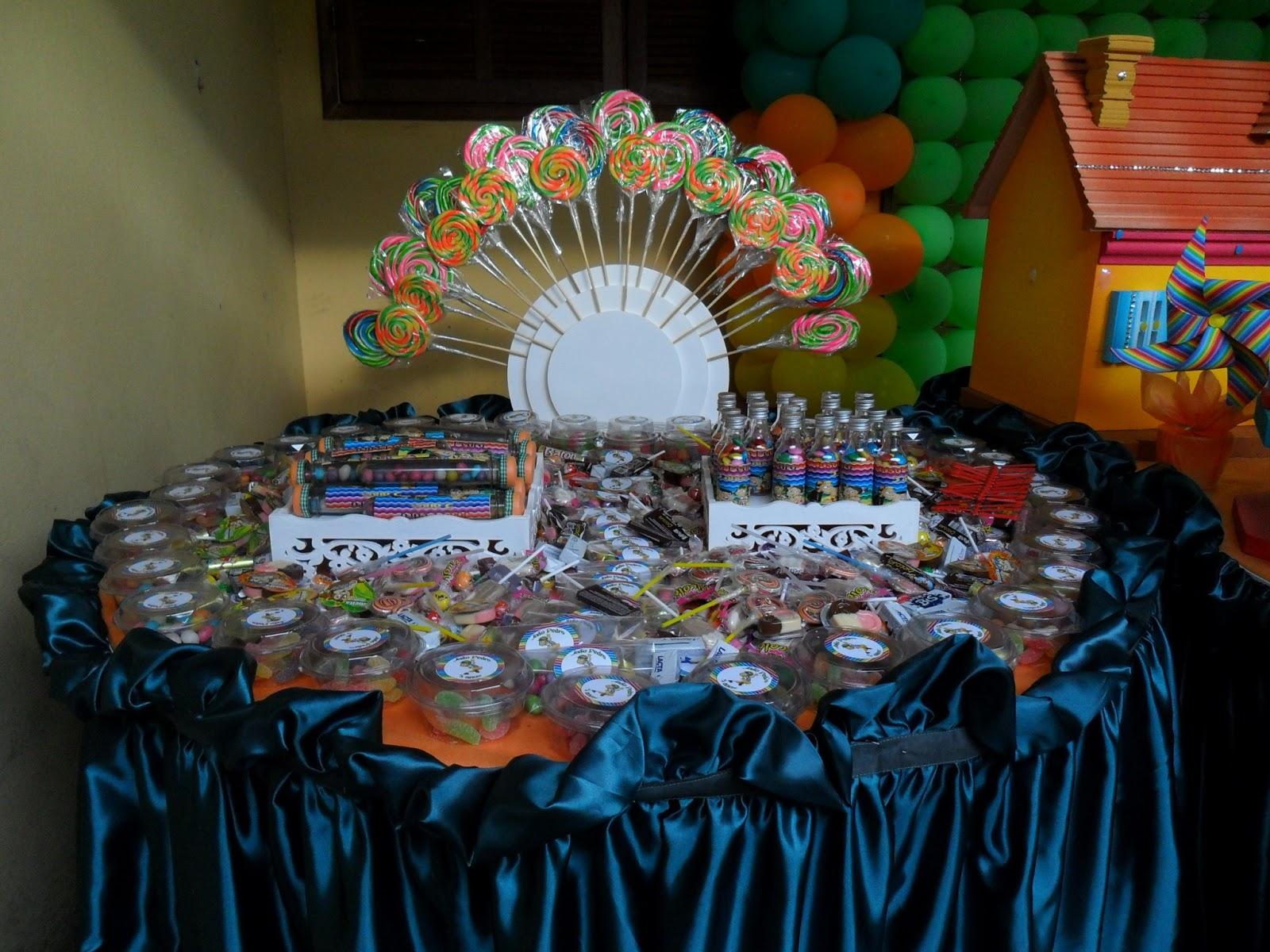 Doce Encanto DECORAÇÃO FESTA DO CHAVES  FESTA PERSONALIZADA