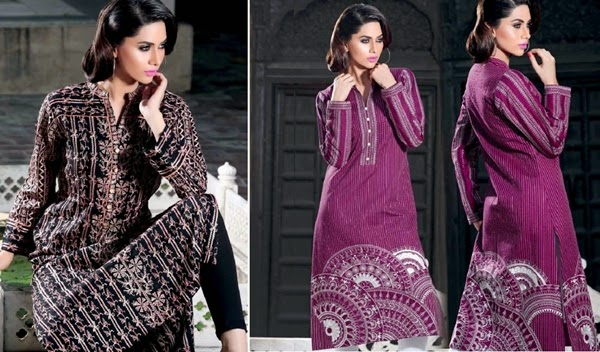 GulAhmed FW Single Print Vol-1 2014-15