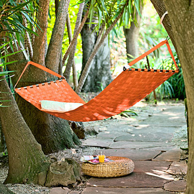 hammock in yard