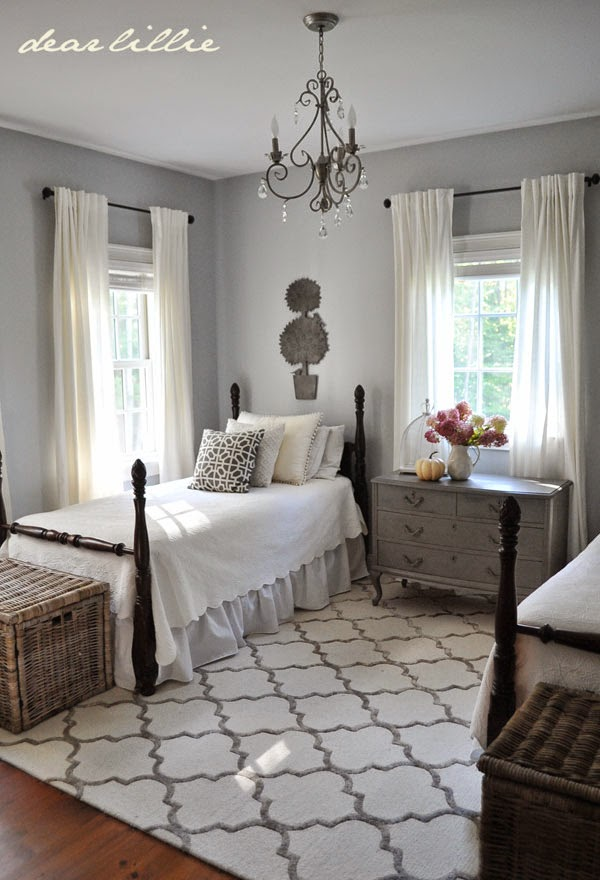 Master Bedroom Area Rug Size