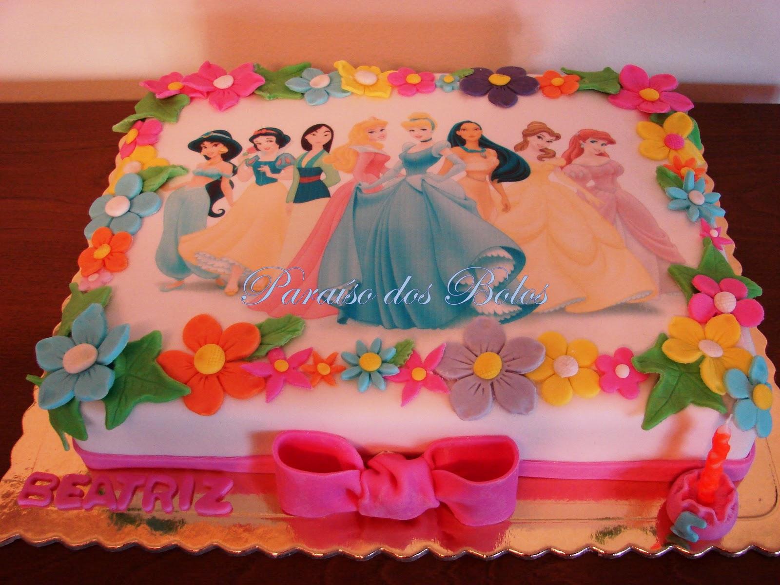 Como fazer um bolo de princesa - YouTube