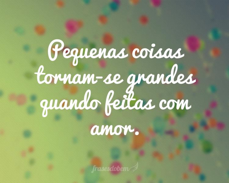 Com amor ♥