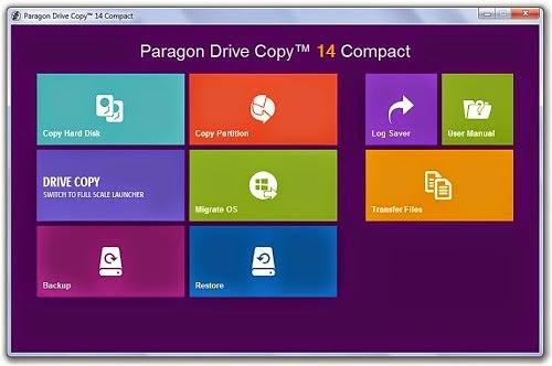 Paragon Drive Copy License Key