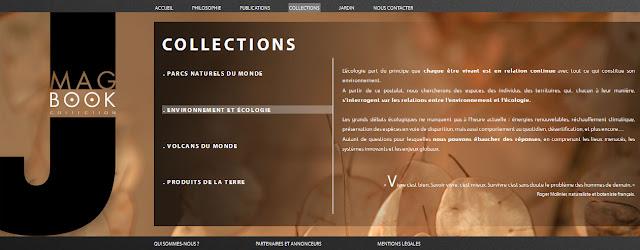interface web de jmagbook