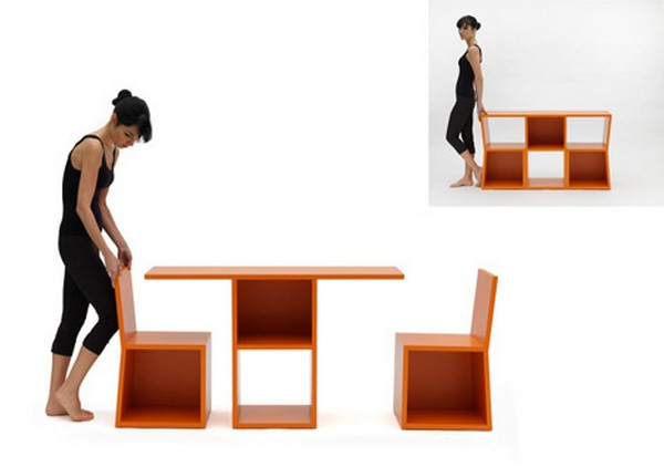 Tricks Bookcase Multifunction A Small Furniture. In General, The Design Of  The Shelves Are Usually Only Able To Be Occupied As A Storage Cupboard.