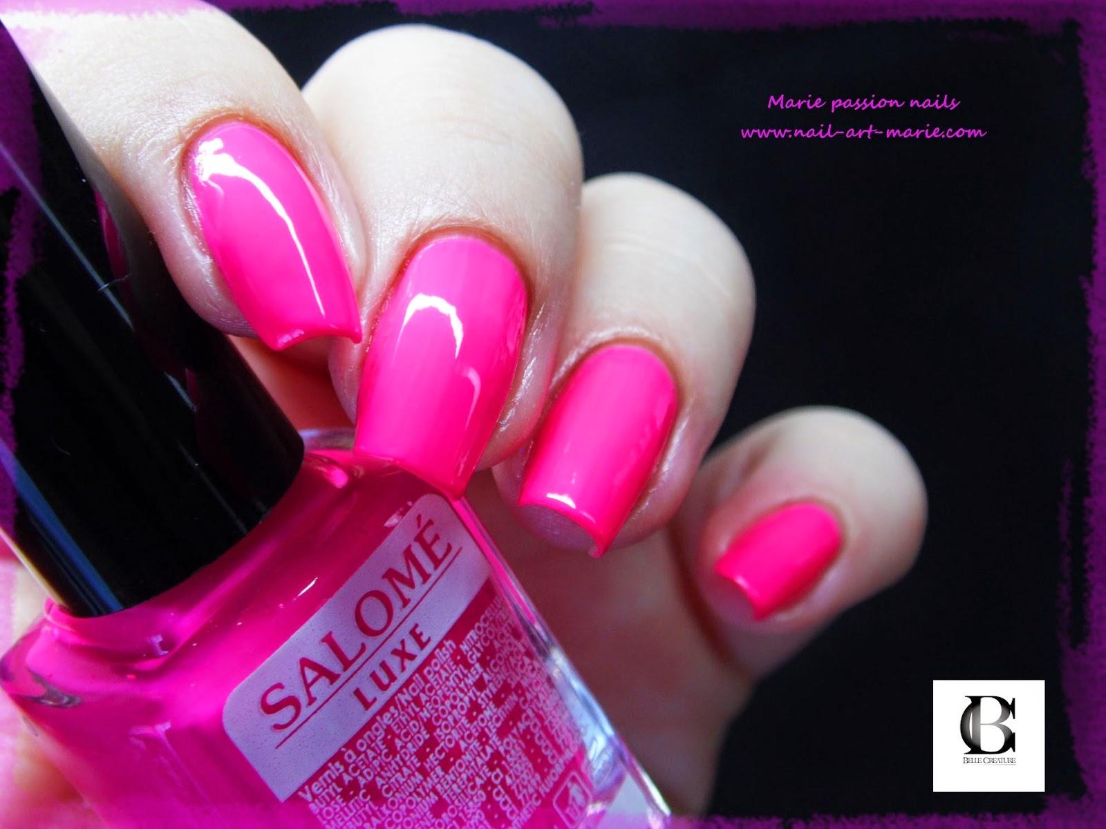 Salomé Luxe rose fluo4