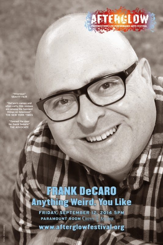 OutQ host Frank DeCaro brings his one man show to Provincetown