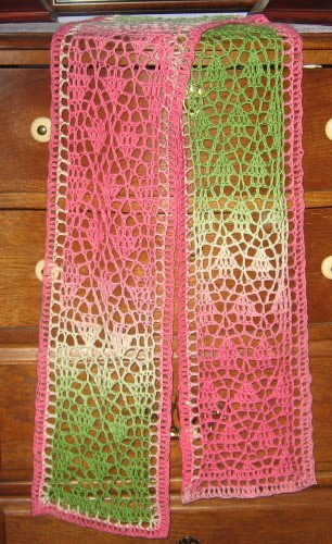 Simple Knits: Jade Dew Stole & Scarf to crochet