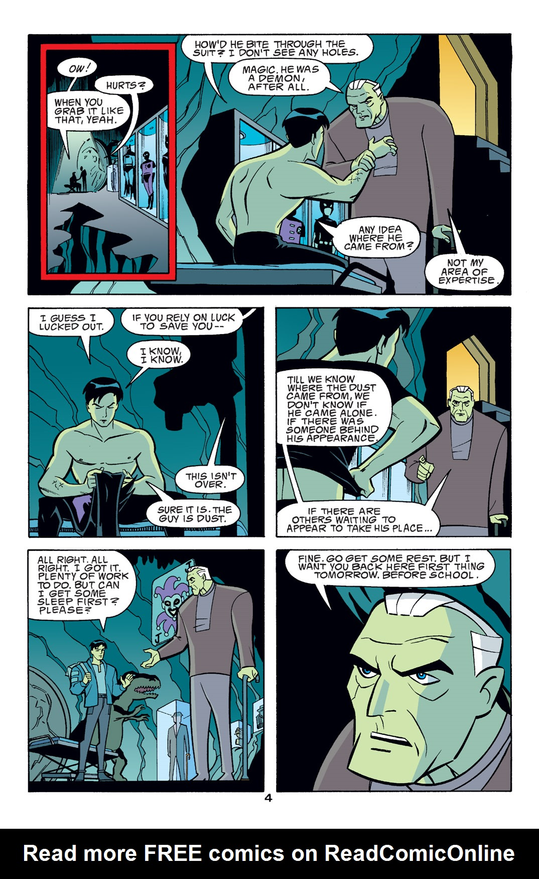 Batman Beyond [II] Issue #14 #14 - English 5
