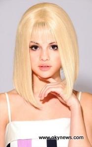 Selena Gomez Short Blonde Hair Hollywood