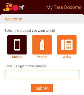 my tatadocomo app free bms voucher