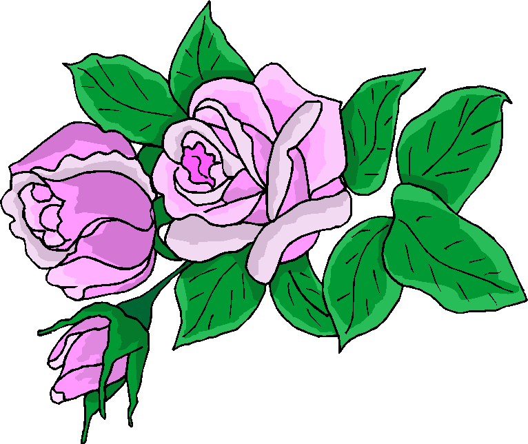 Flower Clipart | Beautiful Purple Free Clipart
