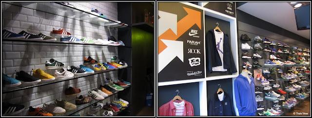 Size ? Paris Châtelet Les Halles shop streetwear sneakers, marque Staple IceCream Nets Adidas